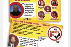 Union Endorsement Election Postcard Mailer