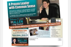 Election Direct Mail Postcard