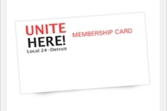 Union Membership Cards