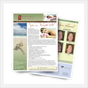 Local Business Client Outreach Brochure
