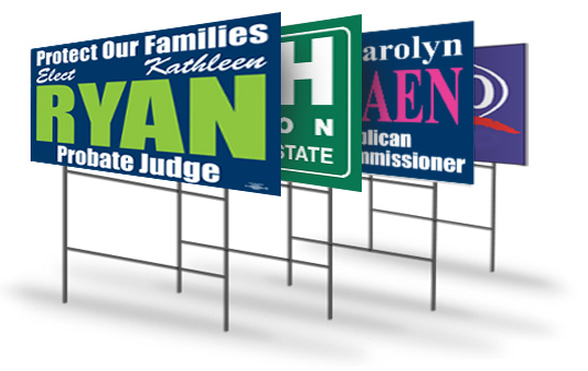 Signs: Political Yard Signs That Will Stand Out