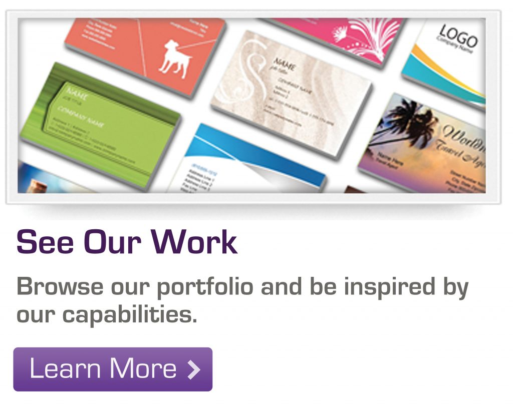 Browse our portfolio and be inspired by our capabilities.