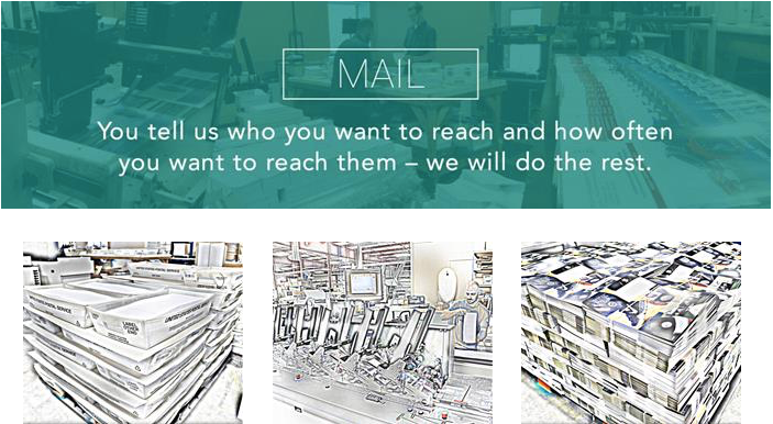 Full service mailing at Allied